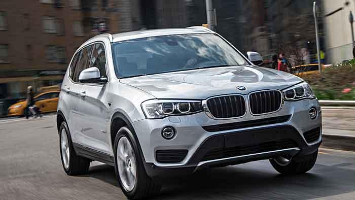 Leistungsstarke SUVs wie der BMW X3 sind bei den Kunden beliebt.