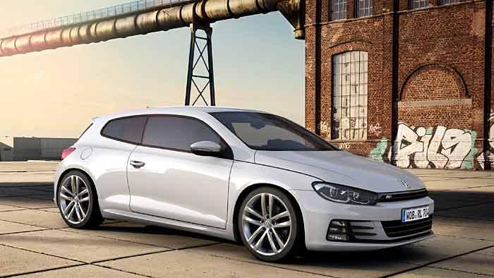 VW verpasst dem Scirocco einen Schuss Dynamik.