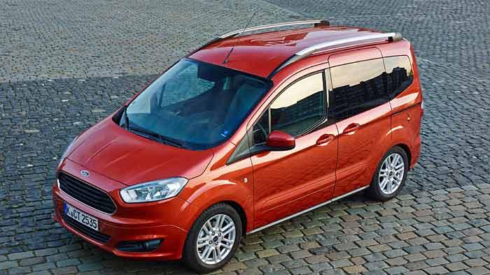 Der Ford Tourneo Courier überzeugt besonders beim Verbrauch.