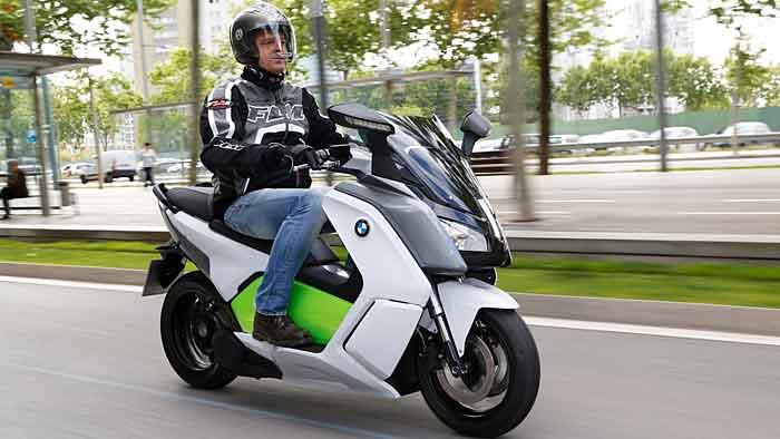 BMW C Evolution: Dynamisch, lautlos, emissionsfrei