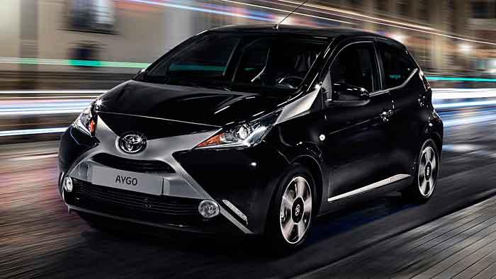 Der Toyota Aygo erhält möglicherweise einen Hybridantrieb.