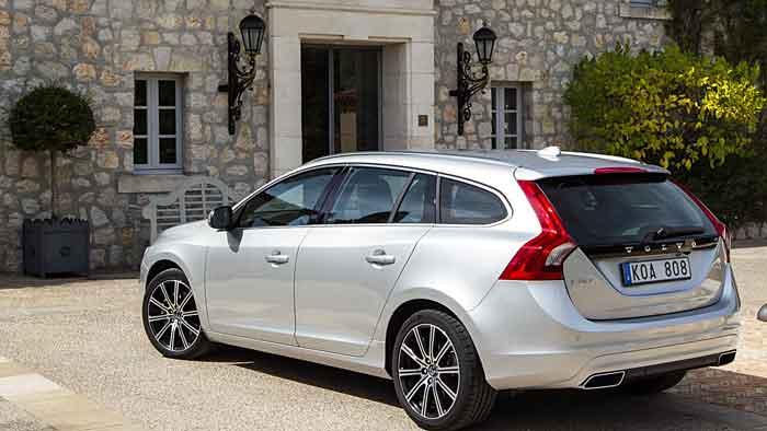 Der Volvo V60 D4 ist mit 181 PS gut ausgestattet.