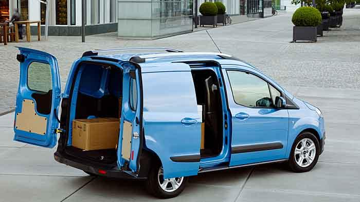 Ford hat mit dem Courier die Transit-Baureihe komplett.