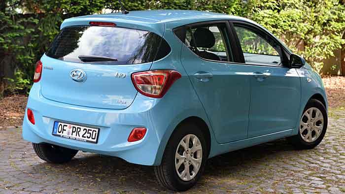 Mit Autogas ist der Hyundai i10 von den Kosten her sparsamer unterwegs.