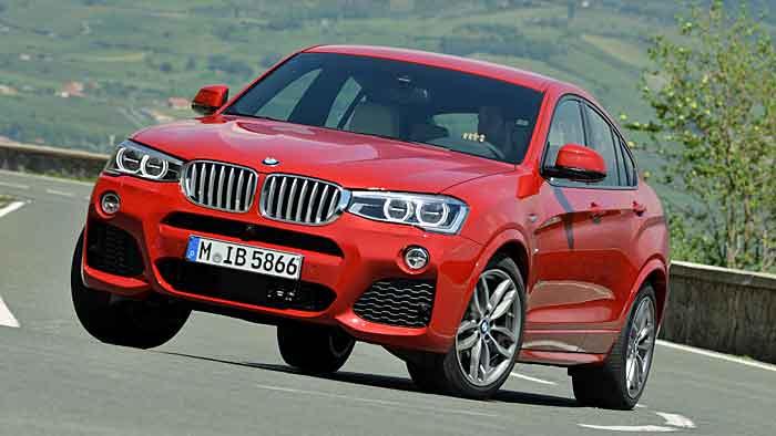 Der BMW X4 ist mit einem Allradgetriebe von Magna unterwegs.