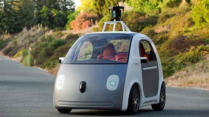 Die Knutschkugel von Google fährt autonom