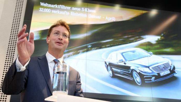 Mercedes-Vertriebschef Ola Källenius