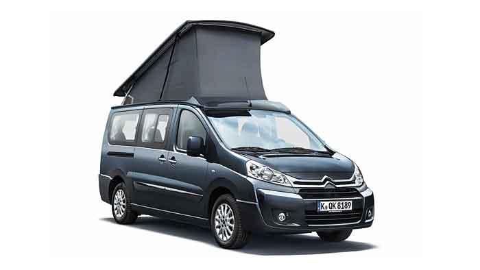 Citroen verwandelt den Jumpy in ein Reisemobil.