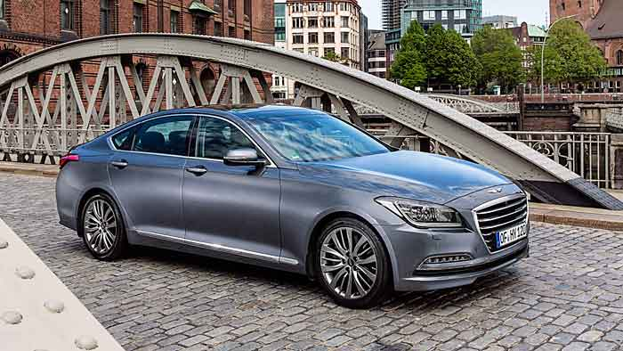 Neuen Schwung erwartet Hyundai durch die neue Luxusmarke Genesis.