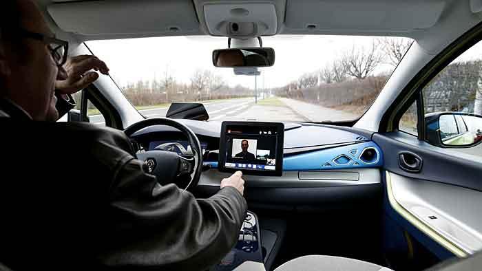 Renault verbindet elektrisches mit autonomen Fahren.