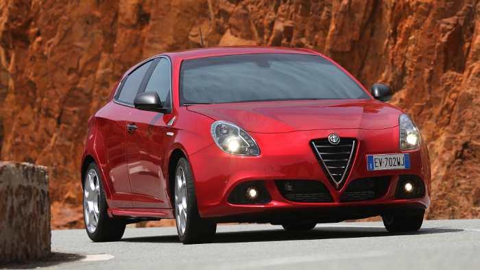 Die Giulietta von Alfa Romeo.
