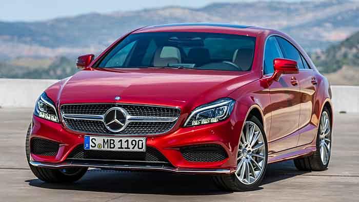 Mercedes CLS im rechten Licht