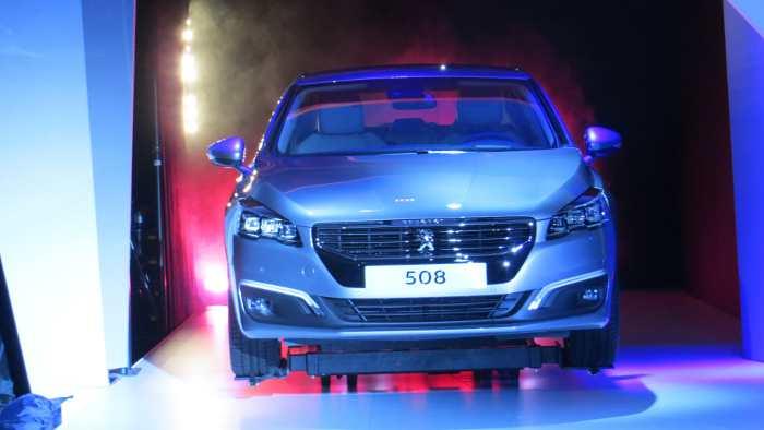 Der Peugeot 508 wurde in London vorgestellt.