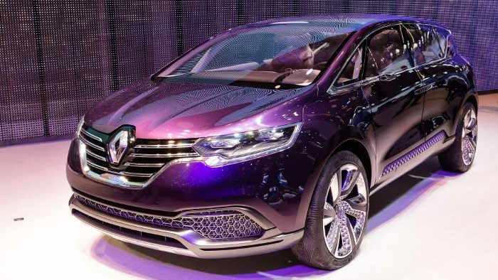 So sah die IAA-Studie des Renault Espace aus.