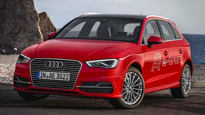 Der Audi A3 e-tron fährt 50 Kilometer rein elektrisch.