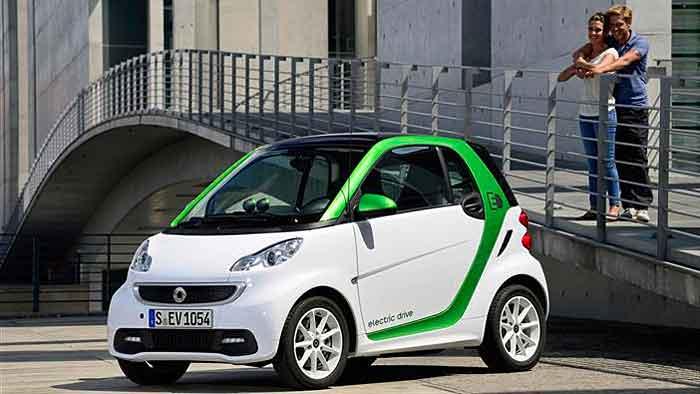 Tesla lieferte die Batterien für den Smart Fortwo Electric Drive.