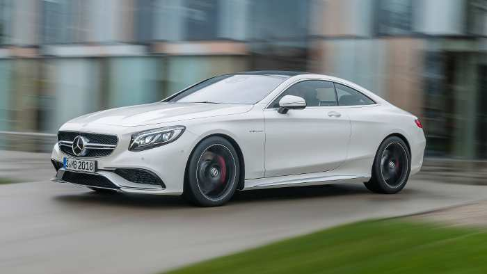 Der Mercedes S63 AMG Coupe.