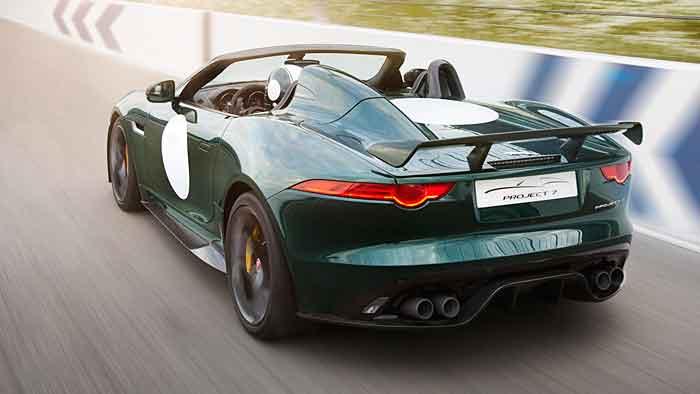 Der Jaguar F-Type Projekt 7 verfügt über 575 PS.
