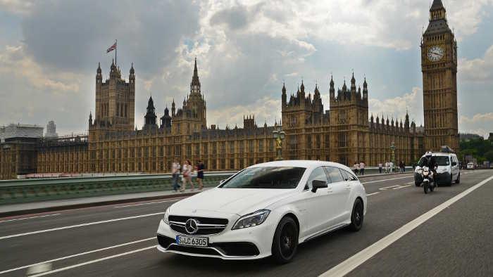 Der Mercedes CLS Shooting Brake kommt überarbeitet auf den Markt.