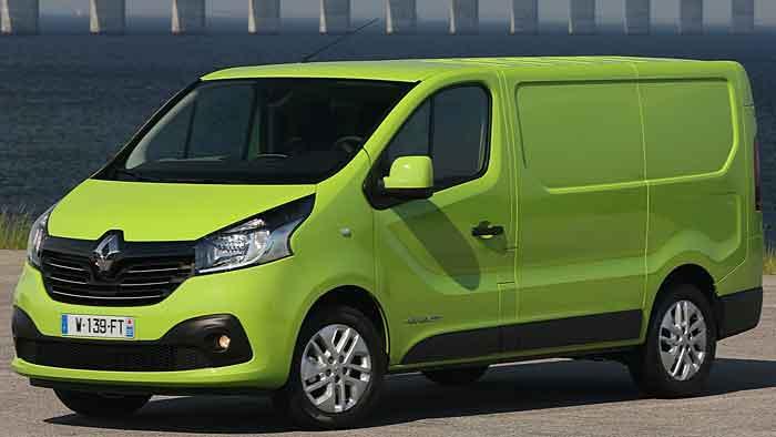 Der Renault Trafic glänzt mit pfiffgen Lösungen.