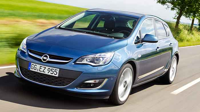 Auch der Opel Astra GTC ist vom Rückruf betroffen.