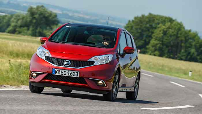 Nissan Note 1.2: Zwischen den Polen