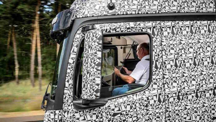 Daimler arbeitet mit Nachdruck am Future Truck.