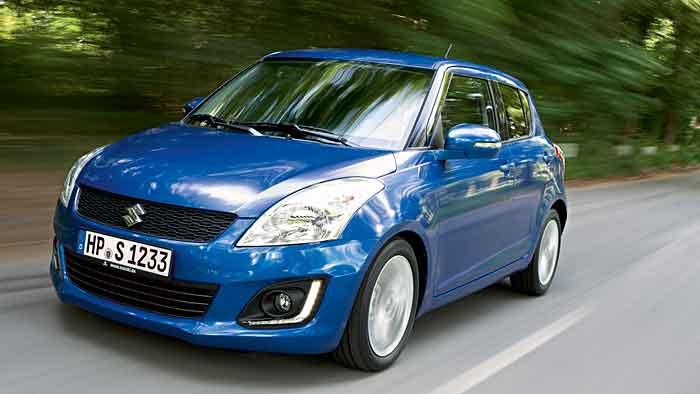 Der neue Suzuki Swift begnügt sich mit 4,3 Litern Super.