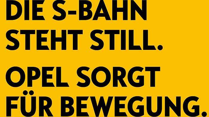 Neue Image-Kampagne: Opel hält Berlin mobil