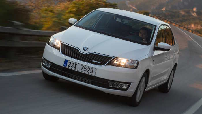 Der Skoda Rapid GreenLine.