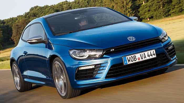 De VW Scirocca sieht sportlich aus und fährt sich auch so.