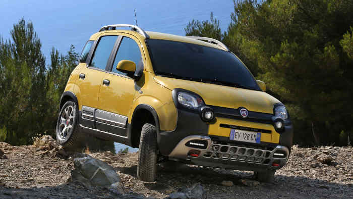 Der Fiat Panda Cross.