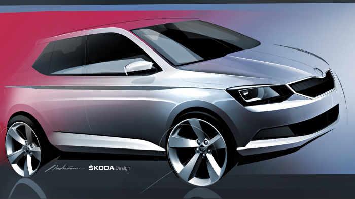 So soll der neue Skoda Fabia aussehen.