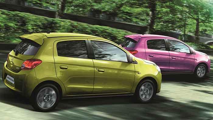 Mitsubishi verschafft dem Space Star neue Farben.