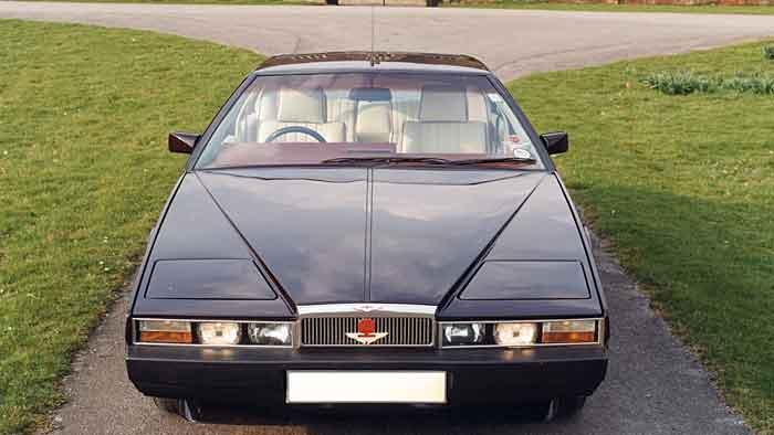 Eine frühere Lagonda-Ausgabe steht Pate für das neue Modell von Aston Martin.