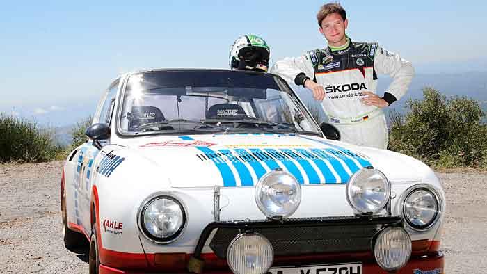 Sepp Wiegand gilt als die deutsche Rallye-Nachwuchshoffnung.