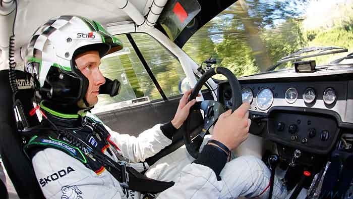 Sepp Wiegand gilt als die deutsche Rallye-Nachwuchshoffnung