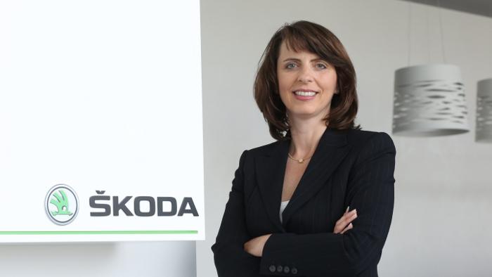 Skoda-Deutschland-Chefin Imelda Labbé.