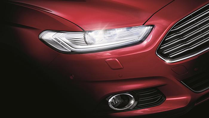 Ford-Mondeo kommt mit LED-Scheinwerfern