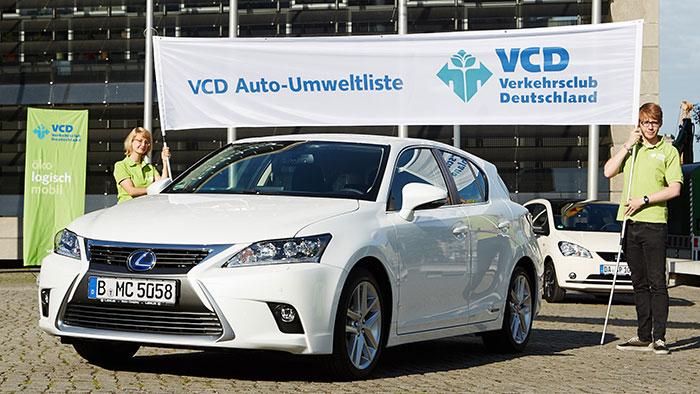 VCD-Umweltliste: Erdgasautos und Hybrid-Fahrzeuge vorn