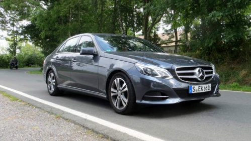 Die Mercedes E-Klasse ist besonders mit Erdgas effizient.
