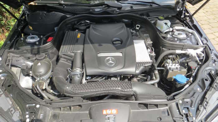 Mercedes E 200 Natural Gas