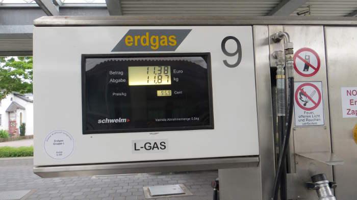 Der Bundestag will die Steuerermäßigung für Erdgas verlängern.