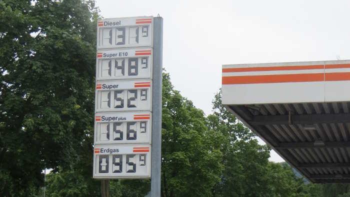 Immer mehr Erdgas-Tankstellen in Europa