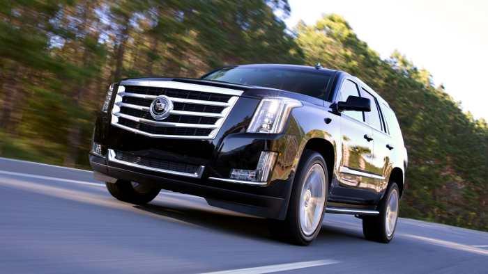 Der neue Cadillac Escalade.