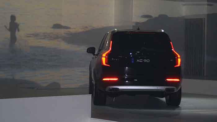 Volvo hat den neuen XC90 enthüllt.