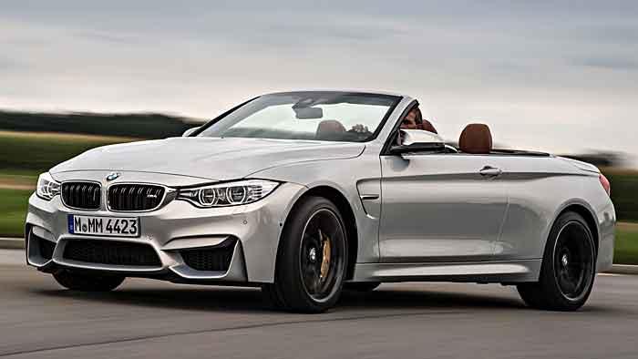 Das BMW M4 Cabrio könnte sich mit 8,7 Litern begnügen.