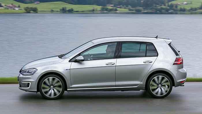 Der VW Golf wird mit bis zu 22 Prozent Rabatt angeboten.
