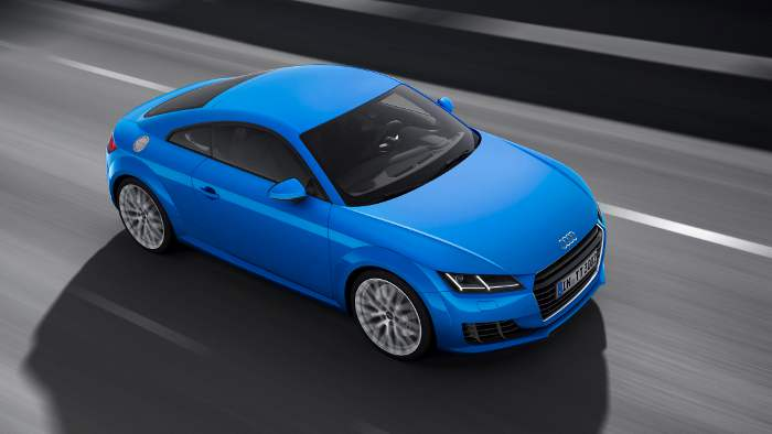 Der Audi TT sorgt für glänzende Fahrleistungen.