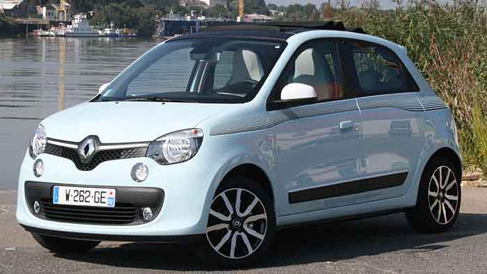 Renault hat den Twingo völlig neu konzipiert.